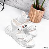 Босоніжки жіночі Sportik білі 3807, фото 2