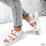 Босоніжки жіночі Sportik білі 3807, фото 3