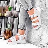 Босоніжки жіночі Sportik білі 3807, фото 4