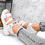 Босоніжки жіночі Sportik білі 3807, фото 7