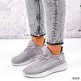 Кросівки жіночі Adis сірі + рожеві 3822, фото 8