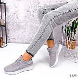 Кросівки жіночі Adis сірі + рожеві 3822, фото 10