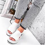 Босоніжки жіночі Sport білі 3845, фото 9