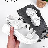 Босоніжки жіночі Annabelle білі 3840, фото 8