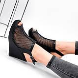 Босоніжки жіночі Lois чорні 4002, фото 3