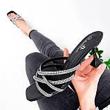 Шлепки женские Cora черные 4028, фото 3
