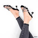 Шльопанці жіночі Cora чорні 4028, фото 4