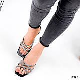 Шльопанці жіночі Cora чорні 4028, фото 6