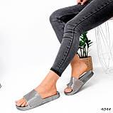 Шльопанці жіночі Liana срібло 4044, фото 5
