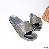 Шльопанці жіночі Liana срібло 4044, фото 8