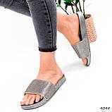Шльопанці жіночі Liana срібло 4044, фото 10