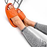 Шлепки женские Eliss оранжевые 4099, фото 6
