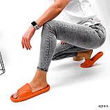 Шлепки женские Eliss оранжевые 4099, фото 8