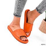 Шлепки женские Eliss оранжевые 4099, фото 10