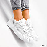 Кроссовки женские Reez белые 4112, фото 2
