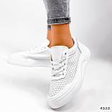 Кроссовки женские Reez белые 4112, фото 3