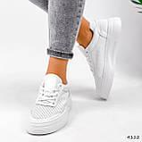 Кроссовки женские Reez белые 4112, фото 4
