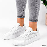 Кроссовки женские Reez белые 4112, фото 5