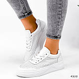 Кроссовки женские Reez белые 4112, фото 7