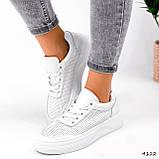 Кроссовки женские Reez белые 4112, фото 8