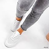 Кроссовки женские Reez белые 4112, фото 9