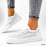Кроссовки женские Reez белые 4112, фото 10