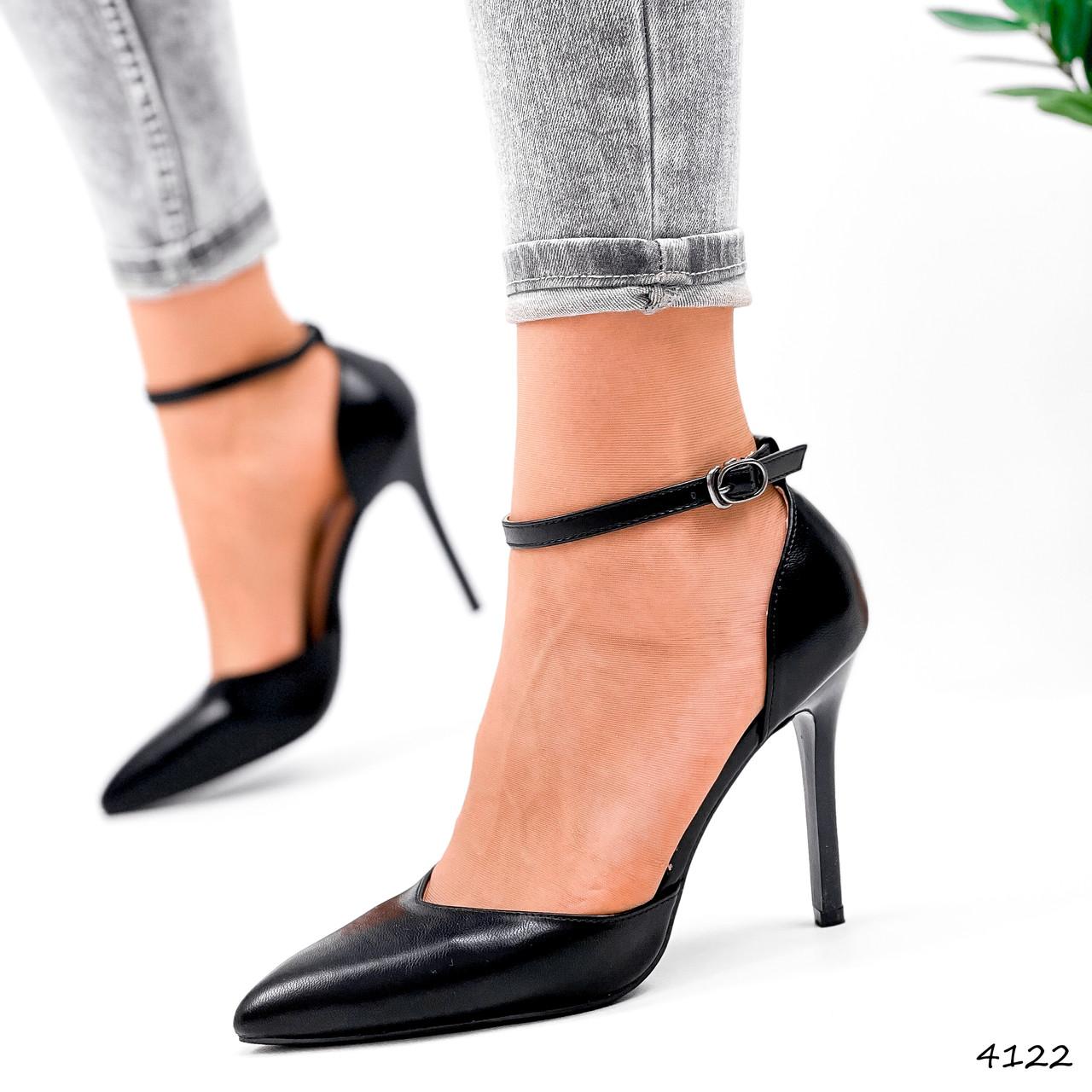 Туфли женские Imany черные 4122