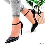 Туфли женские Imany черные 4122, фото 2