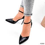 Туфли женские Imany черные 4122, фото 3