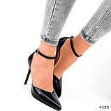 Туфли женские Imany черные 4122, фото 4
