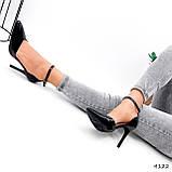 Туфли женские Imany черные 4122, фото 5