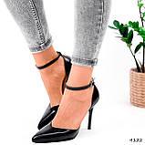 Туфли женские Imany черные 4122, фото 6