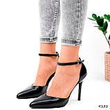 Туфли женские Imany черные 4122, фото 8