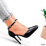 Туфли женские Imany черные 4122, фото 9