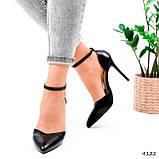 Туфли женские Imany черные 4122, фото 10