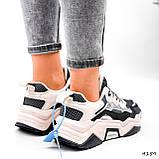 Кроссовки женские Flash серый + беж 4159, фото 3