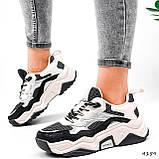 Кроссовки женские Flash серый + беж 4159, фото 6