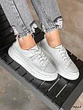 Кросівки жіночі Carol білі 4223, фото 3