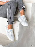 Кросівки жіночі Carol білі 4223, фото 4