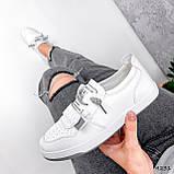 Кросівки жіночі Diva білі 4231, фото 4