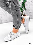 Кросівки жіночі Diva білі 4231, фото 5