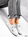 Кросівки жіночі Diva білі 4231, фото 7