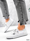 Кросівки жіночі Diva білі 4231, фото 9