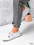 Кросівки жіночі Diva білі 4231, фото 10