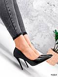 Туфли женские Alvar омбре черные + бронза 4225, фото 4