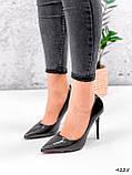 Туфли женские Alvar омбре черные + бронза 4225, фото 5