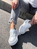 Кроссовки женские Madlen белые 4262, фото 2