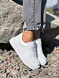 Кроссовки женские Madlen белые 4262, фото 8