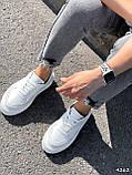 Кроссовки женские Madlen белые 4262, фото 9