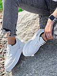 Кроссовки женские Madlen белые 4262, фото 10